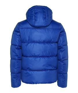 TJM COLORBLOCK PADDED JACKET PROVIDENCE BLUE
