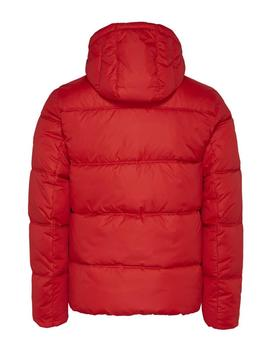 TJM COLORBLOCK PADDED JACKET DEEP CRIMSON