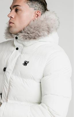 RIP STOP PUFF PARKA WHITE