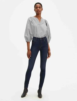 720 HIGH RISE SUPER SKINNY FIT DEEP SERENITY