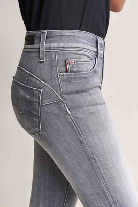 WONDER SKINNY FIT SOFT TOUCH EN DENIM GRIS