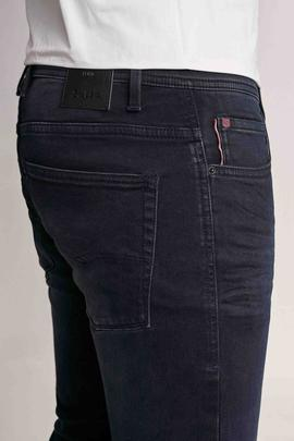 CLASH SKINNY FIT JOGGER DENIM AZUL OSCURO CON GRAFENO