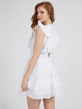 AISHA DRESS TRUE WHITE