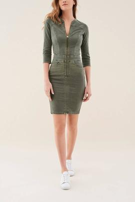 VESTIDO SECRET PUSH IN VERDE KHAKI