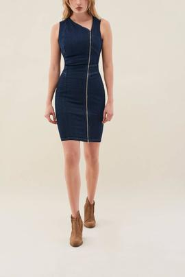 VESTIDO SECRET PUSH IN EN DENIM OSCURO