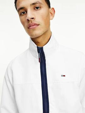 TJM ESSENTIAL CASUAL BOMBER WHITE
