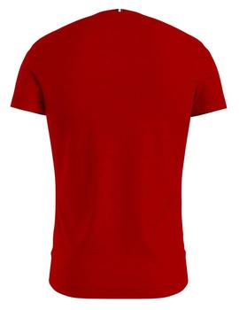 ESSENTIALS TRAINING TEE PRIMARY RED
