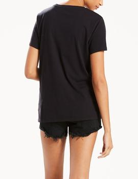 THE PERFECT TEE LARGE BATWING BLACK