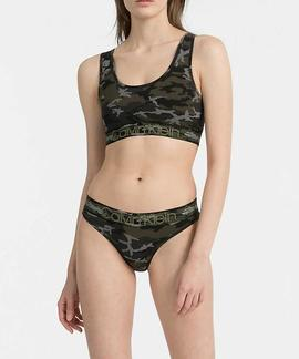 UNLINED BRALETTE 8VX CAMO BLACK