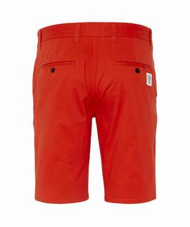 TJM ESSENTIAL CHINO SHORT FLAME SCARLET