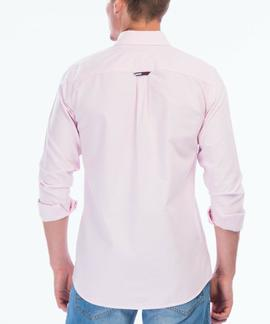 TJM TOMMY CLASSICS SHIRT REGULAR FIT OXFORD PINK