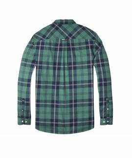 TJM ESSENTIAL CHECK SHIRT BLACK IRIS / MULTI