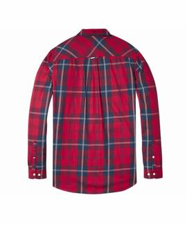 TJM ESSENTIAL BIG CHECK SHIRT SAMBA / MULTI