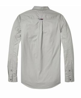 TJM TAPE DETAIL SHIRT REGULAR FIT DRIZZLE