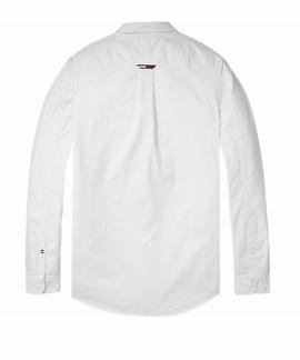 TJM TAPE DETAIL SHIRT REGULAR FIT CLASSIC WHITE