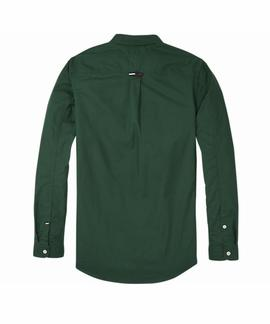 TJM TAPE DETAIL SHIRT REGULAR FIT HUNTER GREEN