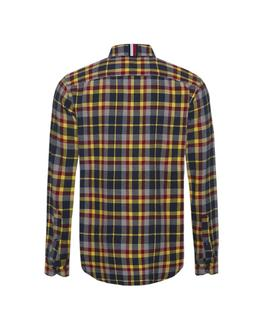 HEAVY TWILL MULTI PLAID SHIRT REGULAR FIT