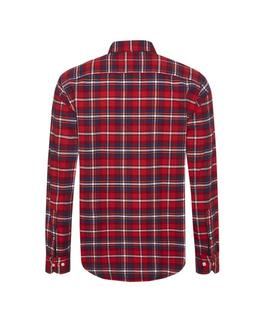 URBAN HIKER CHECK SHIRT REGULAR FIT HAUTE RED