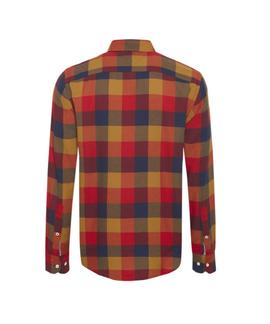WCC BUFFALO CHECK SHIRT REGULAR FIT GOLDEN BROWN