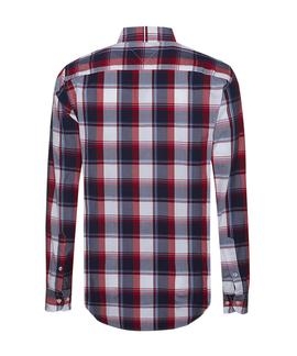 ALLURING CHECK SHIRT REGULAR FIT HAUTE RED