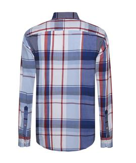 STRIKING CHECK SHIRT REGULAR FIT SODALITE BLUE