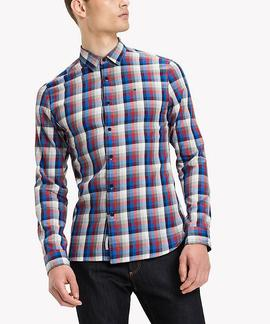THDM BASIC REG CHK SHIRT REGULAR FIT