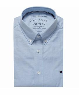 ORGANIC OXFORD SHIRT REGULAR FIT BLUE