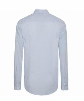 ESSENTIAL MICRO DOT SHIRT SLIM FIT REGATTA / MULTI