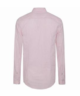 ESSENTIAL MICRO DOT SHIRT SLIM FIT LILAC ROSE