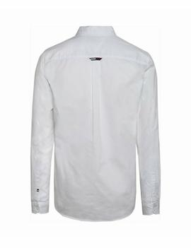 TJM SOLID TWILL SHIRT REGULAR FIT CLASSIC WHITE