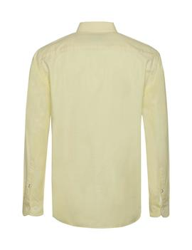 ORGANIC OXFORD SHIRT REGULAR FIT LEMON ZEST
