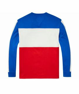 TJM COLORBLOCK LONG SLEEVE TEE B