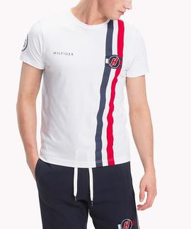 BADGE TEE REGULAR FIT BRIGHT WHITE