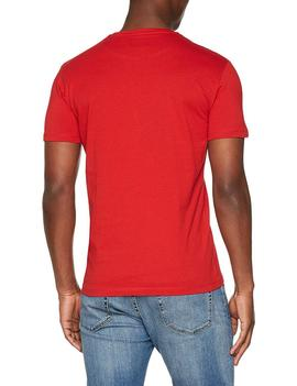 T-SHIRT SCUBA CRACK SINGLE JERSEY RED