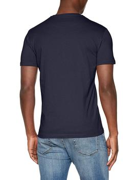 T-SHIRT SCUBA CRACK SINGLE JERSEY NAVY