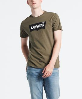 HOUSEMARK GRAPHIC TEE HM SSNL TECH OLIVE