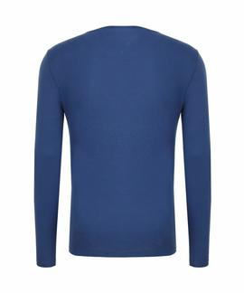THDM BASIC T-SHIRT L/S 19 AZUL ROYAL