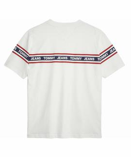 TJM ESSENTIAL TAPE RELAXED FIT CLASSIC WHITE