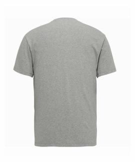 TJM TOMMY CLASSICS TEE REGULAR FIT LT GREY HTR