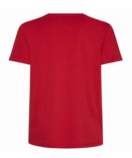 ESSENTIAL COTTON TEE HAUTE RED