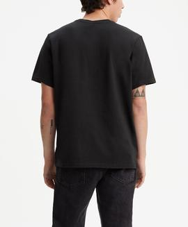 SS OVERSIZED FIT GRAPHIC TEE MINERAL BLACK