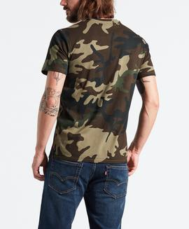 HOUSEMARK GRAPHIC TEE HM SSNL FILL CAMO