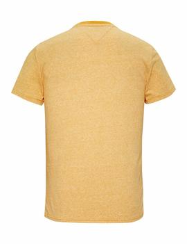 TJM CONTRAST NECK TEE REGULAR FIT RADIANT YELLOW