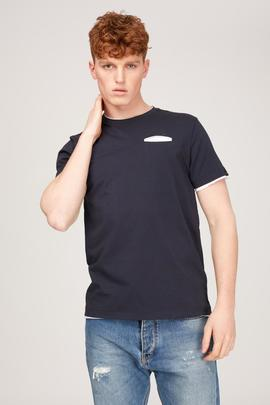 T-SHIRT M.C NASIR N. REGULAR FIT NAVY BLUE