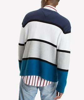 TJM RETRO COLORBLOCK SWEATER