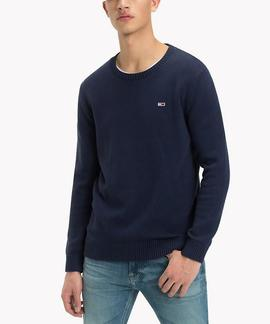 TJM TOMMY CLASSICS SWEATER REGULAR FIT BLACK IRIS