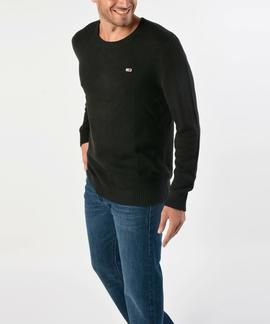 TJM TOMMY CLASSICS SWEATER REGULAR FIT TOMMY BLACK