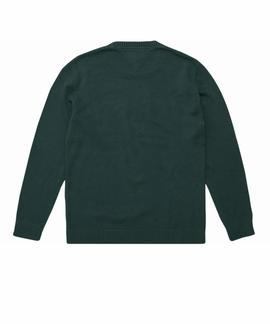 TJM BOLD LOGO SWEATER HUNTER GREEN