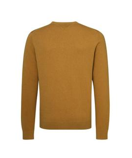 PIMA COTTON CASHMERE CNECK REGULAR FIT GOLDEN