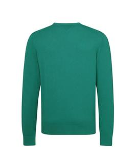 PIMA COTTON CASHMERE CNECK REGULAR FIT ULTR. GREEN